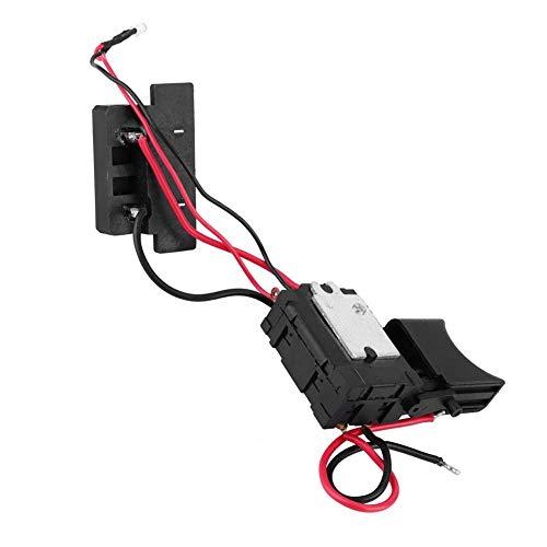 Fafeicy Interruptor de taladro eléctrico, 16A 24V Ajustable CW/CCW Interruptor de gatillo de control de velocidad de taladro eléctrico