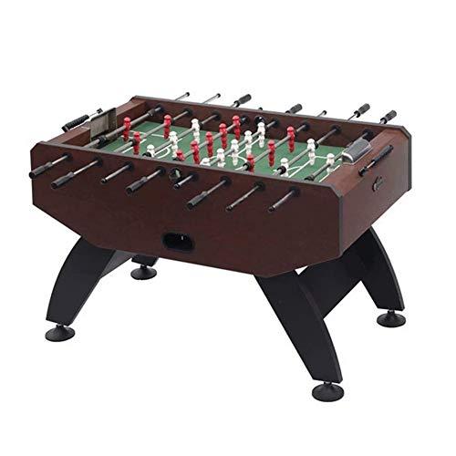 Juego de mesa de fútbol modelo Maracaná, mesa de madera para jugar al fútbol de fútbol americano sólido y fuerte, mesa de fútbol estándar de ocho barras de 139 cm x 74 cm (color: C)