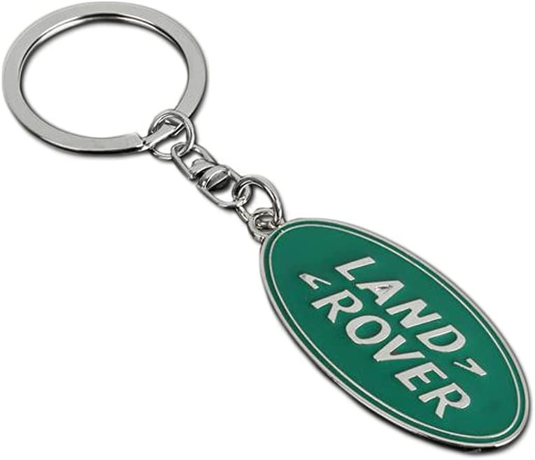 Liudong store Compatible with gift Land Rover Keyring Chrome L 3D Easy-to-use Car