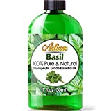 Artizen Basil Essential Oil (100% PURE & NATURAL - UNDILUTED) Therapeutic Grade - Huge 1oz Bottle -...