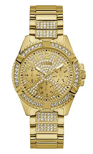 Guess Damen-Uhren Analog Quarz One Size Gold 87953629