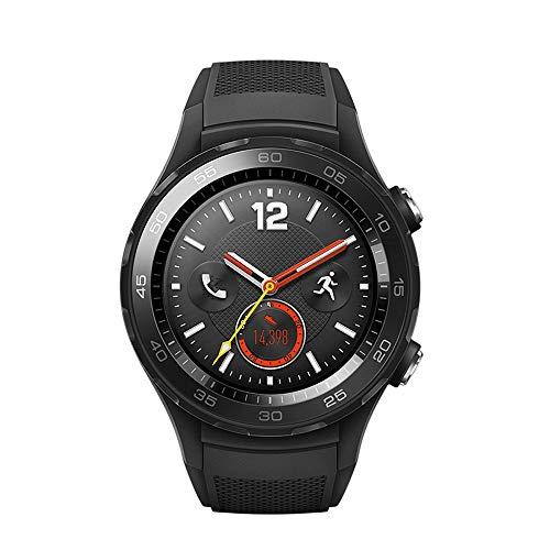 JL Jian Lin Smart Watch Bluetooth Anruf GPS Wasserdicht Schnelle Zahlung Männer und Frauen Bluetooth-Uhr-Multifunktionsmehrfarben Optional smartwatch (Color : Black)