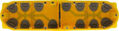 Legrand LEG80024 inbouwdoos, geel, 40 mm