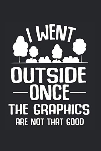 Calendar / Planner 2021: Outside Gamer Graphics Break Monitor Joke Gift 120 Pages, 6X9 Inches, Yearly, Monthly, Weekly & Daily