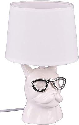 Reality Leuchten Lampada da Tavolo 40 W, Bianco