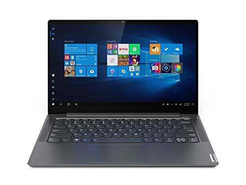 "Lenovo Yoga S740-14IIL - Ordenador portátil 14"" FullHD (Intel Core i7-1065G7, 16GB RAM, 512GB SSD, GeForce MX250-2GB, Windows 10), Gris - Teclado QWERTY español"