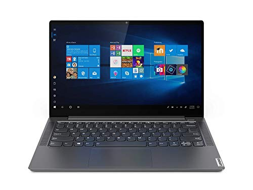 Lenovo Yoga S740-14IIL - Ordenador portátil 14' FullHD (Intel Core i7-1065G7, 16GB RAM, 512GB SSD, GeForce MX250-2GB, Windows 10), Gris - Teclado QWERTY español