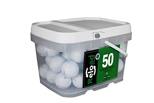 Titleist Reload Recycled Golf Balls Pro v1X Renewed Golf Balls (50 Pack)