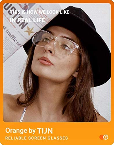 Clear womens glasses _image3