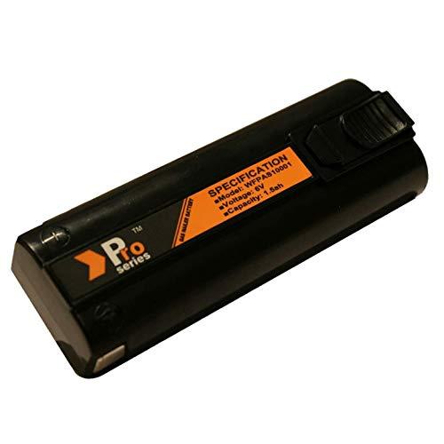 Pro Series Batterie de rechange pour cloueurs Paslode 6 V 1,5 Ah