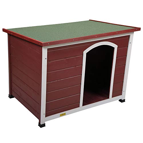 Wooden Dog House Outdoor & Indoor Large Pet...