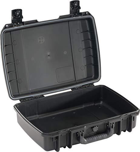 PELI Storm IM2370 Maletín para portátil Resistente al Agua, al Polvo y los Impactos, 19L de Capacidad, Fabricado en EE.UU, sin Espuma, Color Negro