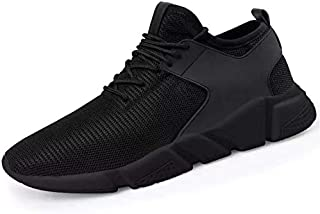 Hgyltch Men's Running Shoes Walking Shoes Fashion Sneaker Tennis Workout Sport Outdoor Athletic Shoes Gym Breathable Comfo...