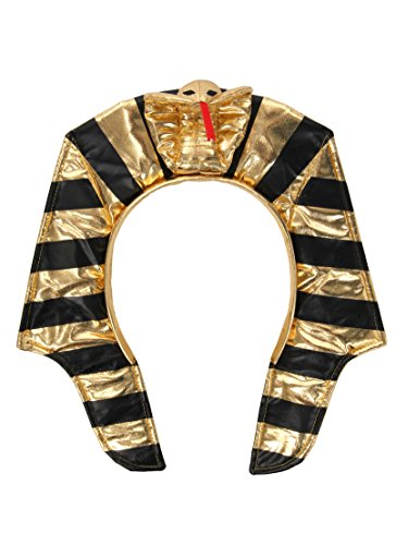 elope Egyptian King Tut Costume Headband for Kids and Adults