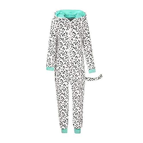 Dames flanel pyjama dier pyjama herfst en winter Home kleding (S~XL)