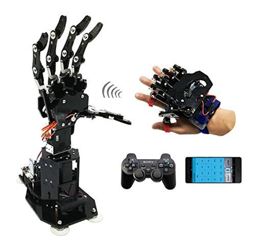 HARLT 7 Degrees of Freedom Bionic Synchronisation Mechanische Palm Exoskelett Tragen Somatosensory Roboterarm Bausatz High-Tech-Spielwaren,RCVersion