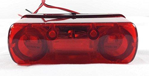 1x 4LED trasera cola número de licencia Plate lámpara de luz 24V Camión Camión Remolque nuevo