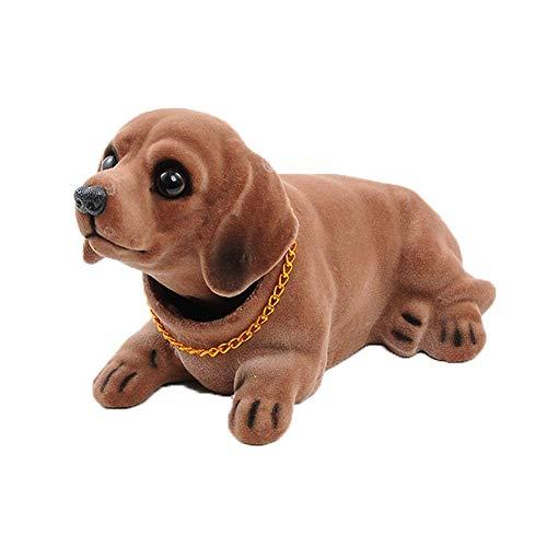 Xuba - Cabezal de Perros, Cabezales de rodamiento para salpicadero de Coche, Adornos, Cachorro para vehículo, Dachshund