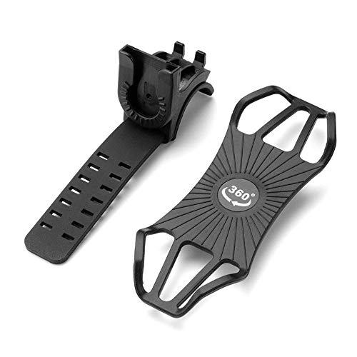 Review Of Bicycle Phone Mount, Rotary Phone Holder Detachable Design Suitable for Motorcycle Mountai...