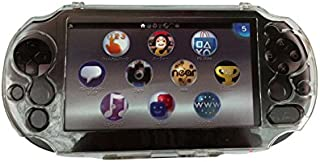 OSTENT Protective Clear Crystal Hard Guard Case Cover Compatible for Sony PS Vita PSV PCH-2000