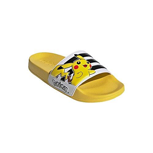 Adidas Pokémon Kids Adiletten Badelatschen (Yellow, Numeric_29)