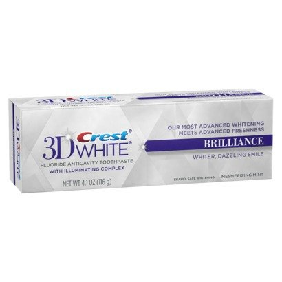 Crest 3D White Brilliance Mesmerizing Mint Flavor Toothpaste -USA-