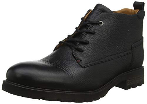 Tommy Hilfiger Winter Shearling Lining Boot, Botas Clasicas Hombre, Black 990, 45 EU