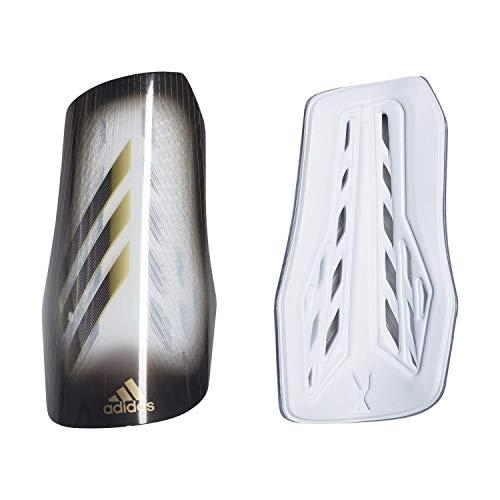 adidas Erwachsene X 20 League Schienbeinschoner, Grey one/Black/Gold met, S