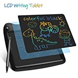 Enotepad LCD Writing Tablets, Colorful Drawing Doodle Board 9 Inch Digital eWriter for Kids Portable Electronic Graphics Black