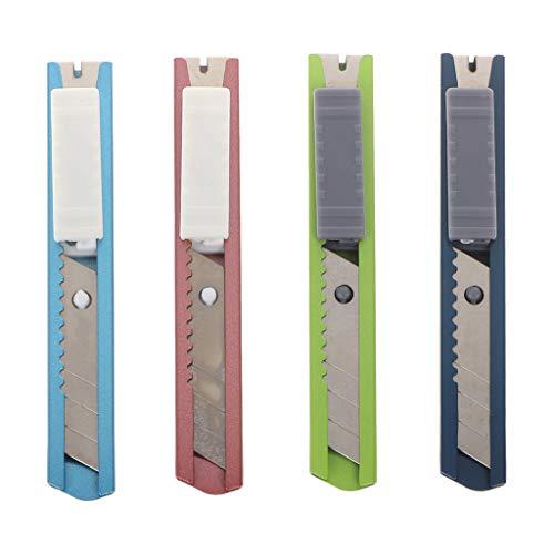 Youlin Utility Mini-Rasiermesser, multifunktional, Edelstahl, schneidet schnell und einziehbar