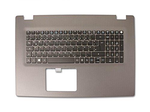 Acer Tastatur inkl. Topcase DE (deutsch) schwarz/grau mit Backlight Original 6B.G50N1.008 Aspire E5-722, E5-722G, E5-752, E5-752G, E5-772, E5-772G, E5-773, E5-773G
