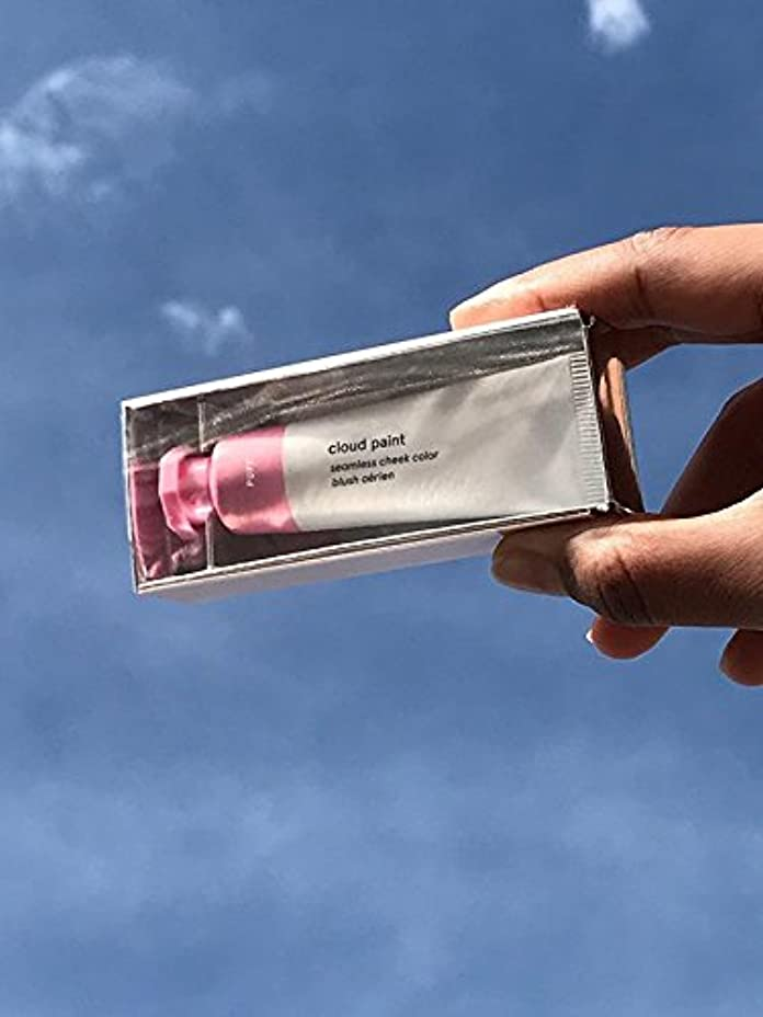 プログラムディベート定説Glossier グロッシアー Cloud Paint クラウドペイント クリームチーク 4色選べる (Puff)