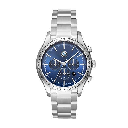 BMW - Reloj de Cuarzo japonés analógico para Hombre con Correa de Acero Inoxidable - BMW8001