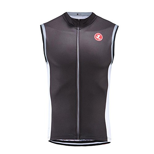 Uglyfrog Fahrradbekleidung Sleeveless Radsport Trikots Herren Frühjahr Style Full Zipper Rennrad/MTB Radsport Westen/ HSM01