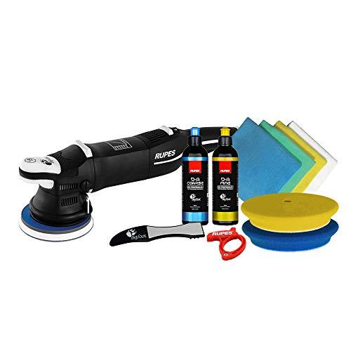 The Clean Garage Rupes LHR15 Mark III Polierer Starter Kit   DA Puffer Pads & Politur