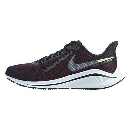 Nike Air Zoom Vomero 14, Chaussures de Running Homme, Violet (Burgundy Ash/Atmosphere Grey/Lime Blast/Black/Gun Smoke 600), 41 EU