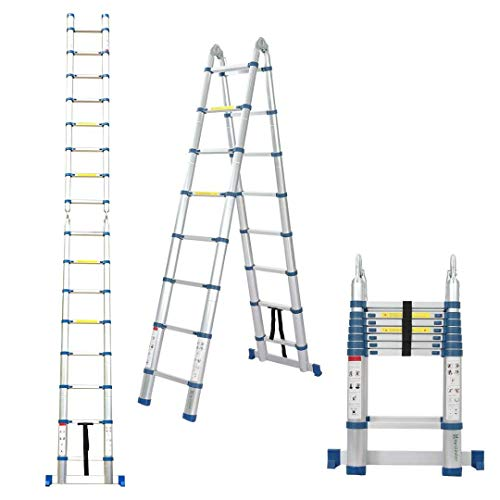 Snow Fox 16.5 Ft Telescoping Ladder