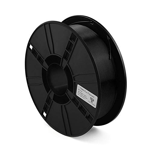 3D-Drucker Filament 1,75 mm, Pla Filament 1 kg Spule, für 3D-Drucker und 3D-Stift-Schwarz
