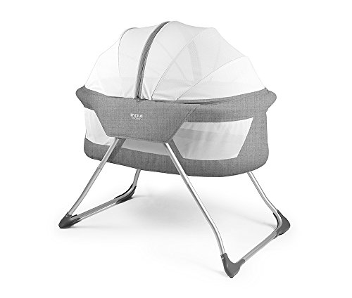 Inovi Cocoon Folding Moses Crib Travel Cot G