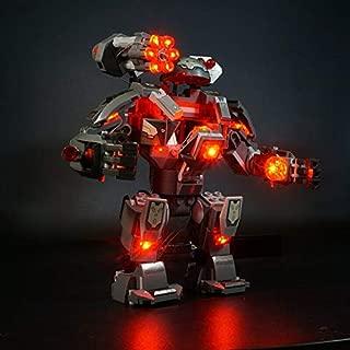 LED Light Kit For Lego War Machine Buster 76124 (Lego Set no Included)