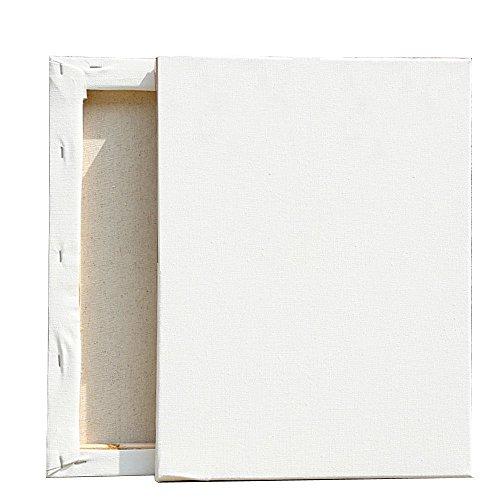 Easy Kunst GmbH Leinwand auf Keilrahmen aus Baumwolle 380 g/m² S-XXL Leinwände Gr. 20x30 cm