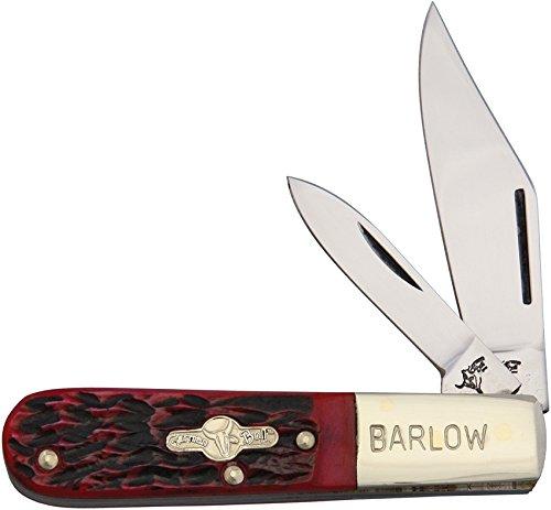 German Bull - Taschenmesser - Barlow Red Pick Bone - Länge geschlossen: 8.26 cm