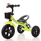 SZNWJ ygqtbc Triciclo Infantil, Estructura de Acero y Asiento...