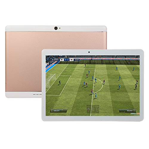 SSSabsir 10.1 Inch IPS HD Screen Android 8.1 Dual Camera 2+32GB Tablet PC Rose gold EU plug