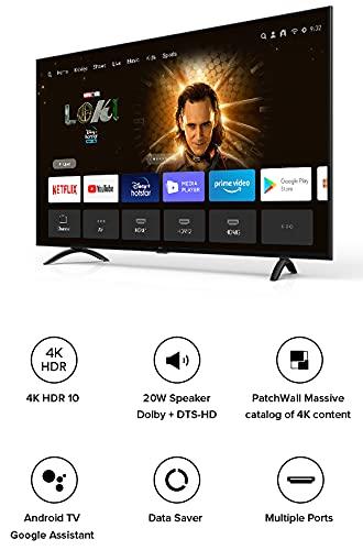 Mi 108 cm (43 Inches) 4K Ultra HD Android Smart LED TV 4X|L43M4-4AIN (Black) 2