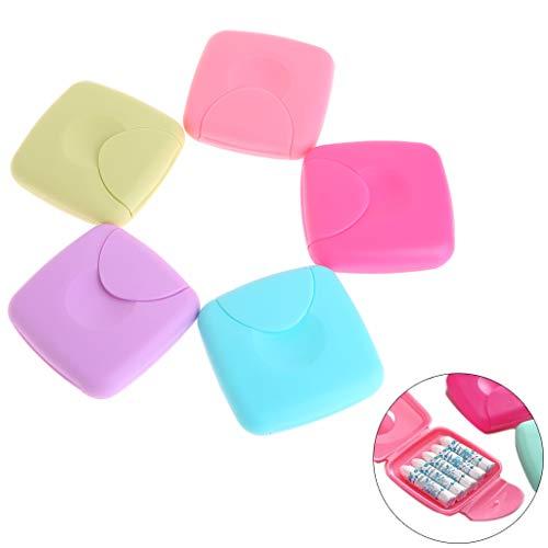 Cuigu 1Pc Boîte de Rangement Portable pour Serviettes Hygiéniques pour Femmes Porte-Bonbons Couleur