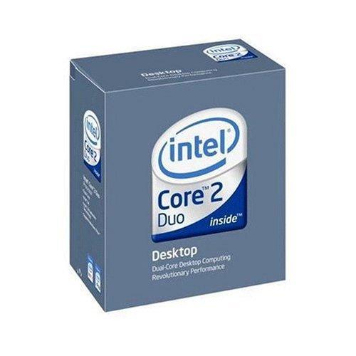Intel Core 2 Duo E4600 - Procesador (Intel Core 2 Duo, 2,4 GHz, 800 MHz, 65W, 0.8500-1.5V, 167M)