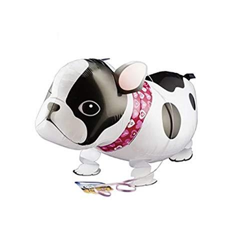 jinwo - 1 Globo con Forma de Gato, Perro, Conejo, Panda, Dinosaurio, Tigre, Gatito, Globos para Mascotas, decoración de Fiesta de cumpleaños