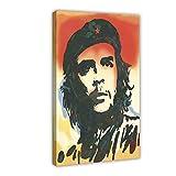Che Guevara Retro Art 6 Leinwand-Poster, Wandkunst, Deko,