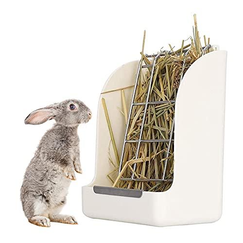 Alimentatori per Fieno,Mangiatoia per Fieno per Conigli Coniglio Erba Telaio, Alimentatore per Conigli per Uso Alimentatori per Fieno per Coniglietto di Porcellino D'India Cincillà,Multiuso